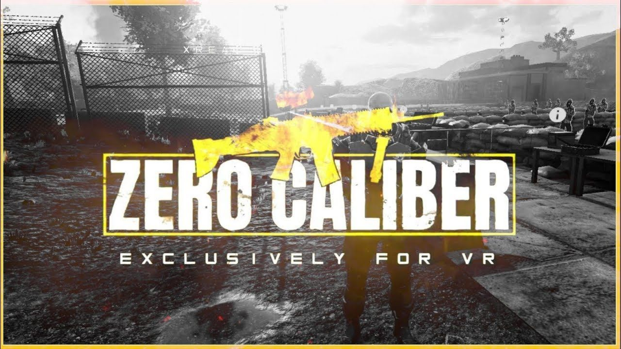 Zero Caliber Virtual Reality Arcade Game